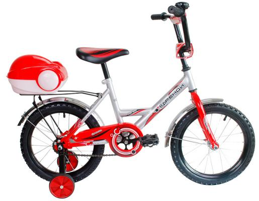 "Велосипед RT Мультяшка Френди 1601 16"" красный XB1601"