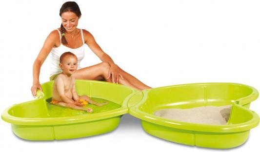 Купить Песочница Smoby Бабочка 310143, 167 х 111 х 18 см, Горки и песочницы для детей