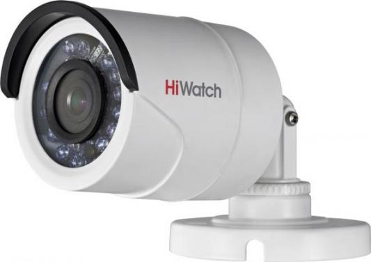 лучшая цена Камера видеонаблюдения Hikvision HiWatch DS-T200 цветная