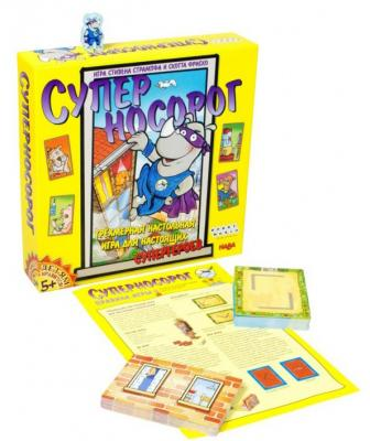 Настольная игра семейная Hobby World Суперносорог 1537