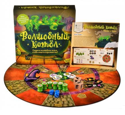 Настольная игра Magellan семейная Волшебный котел MAG05292 настольная игра семейная rorys story cubes кубики историй бэтмен rsc104