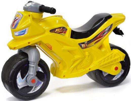 Каталка-беговел RT Мотоцикл Racer RZ 1 желтый ОР501