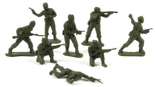 "Набор фигурок Биплант Солдатики ""Британские Командос"" 6.5 см 12017"