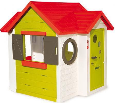 Игровой домик Smoby с замком и звонком 810400
