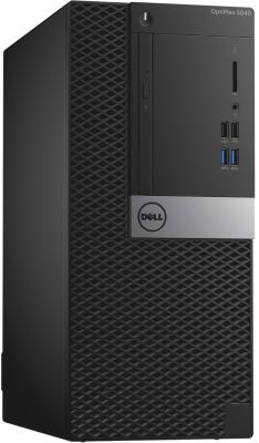 Системный блок DELL Optiplex 5040 i5-6500 3.2GHz 4Gb 500Gb HD530 DVD-RW Win7Pro Win10 Pro клавиатура мышь черный 5040-2587