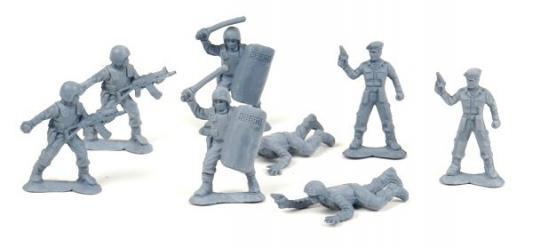 Набор фигурок Биплант Солдатики Российский спецназ 6.5 см 12021