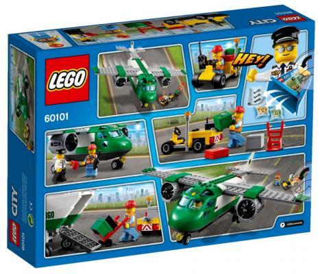 Конструктор Lego City Грузовой самолёт 157 элементов 60101