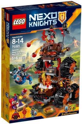Конструктор Lego Nexo Роковое наступление Генерала Магмара 516 элементов 70321