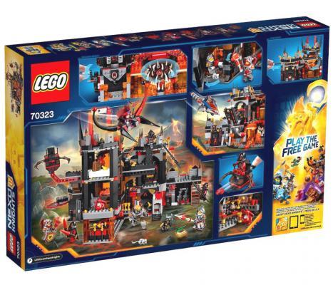 Конструктор Lego Nexo Логово Джестро 1188 элементов 70323