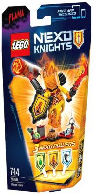 Конструктор Lego Nexo Knights: Флама - Абсолютная сила 67 элементов 70339