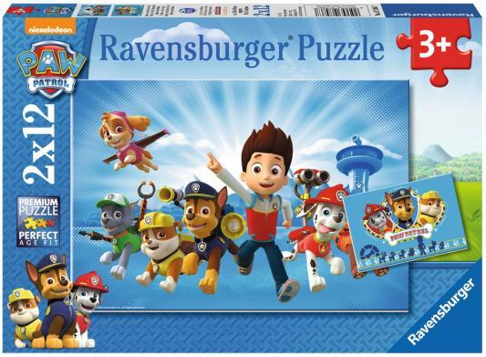 Пазл Ravensburger Щенячий патруль 24 элемента 07586 ravensburger пазл щенячий патруль героические собаки 2 шт по 24 детали