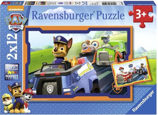 Пазл — Щенячий патруль в действии 24 элемента ravensburger пазл щенячий патруль героические собаки 2 шт по 24 детали