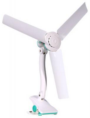 Вентилятор настольный VES Electric VD 601 10 Вт бело-синий