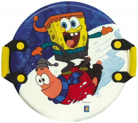Ледянка 1Toy Губка Боб рисунок пластик Т57201 круглая