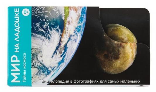 Развивающие карточки Умница Мир на ладошке Тайны космоса 2009 умница профессии городские службы