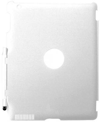Накладка Promate SmartShell.1 для iPad 2 белый эскиз цветок шаблон мягкий тонкий тпу резиновая крышка случая силикона геля для huawei y5 ii