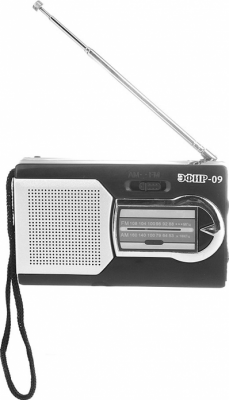 Радиоприемник Сигнал Эфир-09 черный