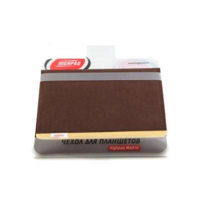 "Чехол Highpaq Madrid для планшетов 9.7 "" коричневый"