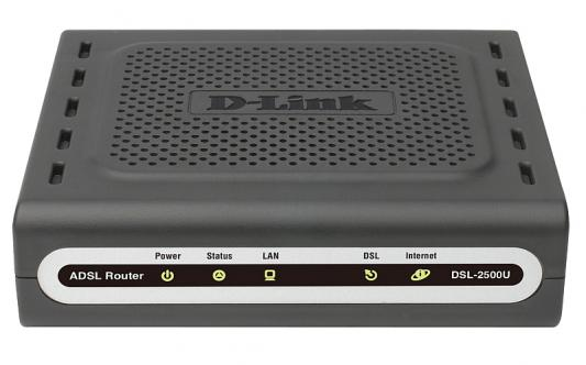 Маршрутизатор D-Link DSL-2500U/BB/D4A 4 порта 10/100Mbps