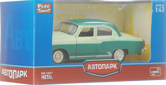 Купить Инерционная металлическая машинка Play Smart Автопарк Волга Газ-21 Р41137, Интерактивные игрушки