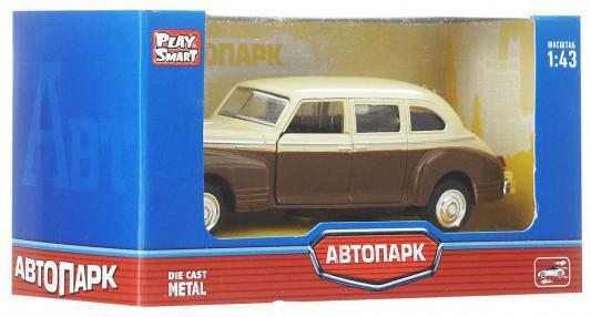 Инерционная металлическая  машинка Play Smart Автопарк Зис-110  Р41144