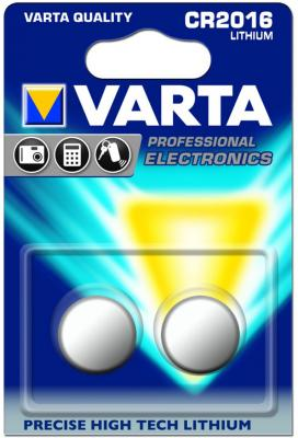Батарейки Varta Electronics CR2016 2 шт