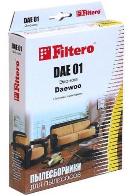 Пылесборники Filtero DAE 01 Эконом 4 шт