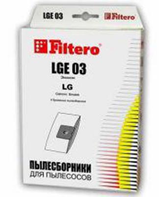 Пылесборник Filtero LGE 03 Эконом 4 шт пылесборник filtero lge 01 standart