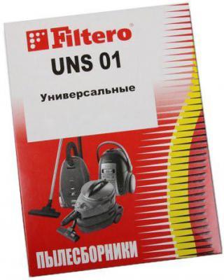 все цены на Пылесборник Filtero UNS 01 Эконом 2 шт онлайн