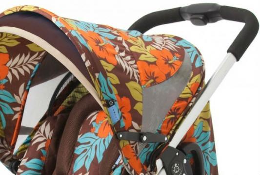 Прогулочная коляска Zooper Z9 Flowers (jungle earth)