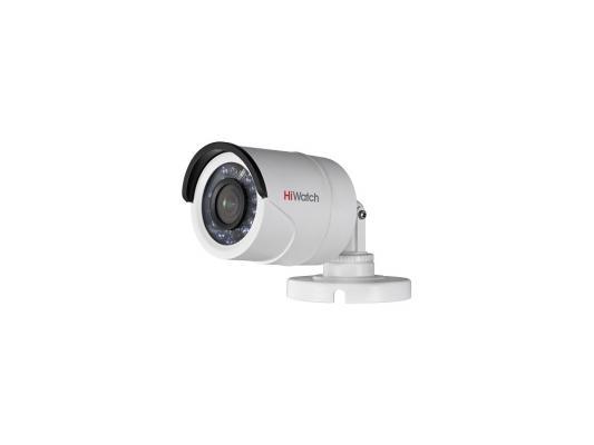Камера видеонаблюдения Hikvision DS-T100 уличная цветная 1/4 CMOS 2.8 мм ИК до 20 м камера видеонаблюдения hikvision ds 2cd2022wd i 4 mm ds 2cd2022wd i 4 mm