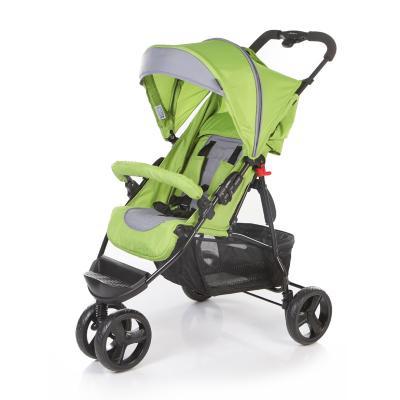 Коляска прогулочная Jetem Mira Lite (green/dark grey) коляска трость jetem elegant dark grey green полоска