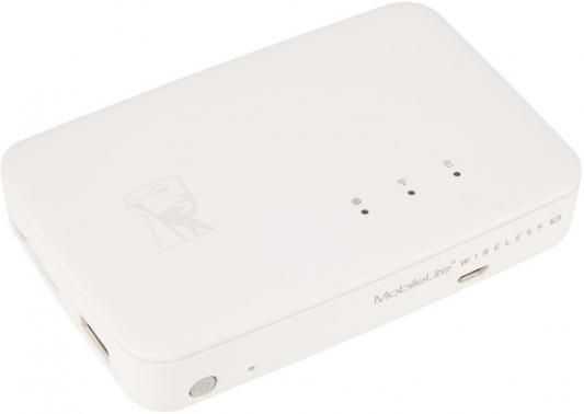Картридер внешний Kingston MLWG3ER USB2.0 белый