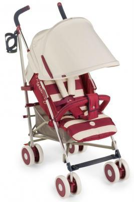 Коляска-трость Happy Baby Cindy (maroon) happy baby happy baby развивающая игрушка руль rudder со светом и звуком