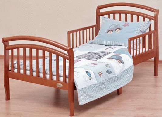 Кровать подростковая Лель Юнона БИ04 (орех светлый)