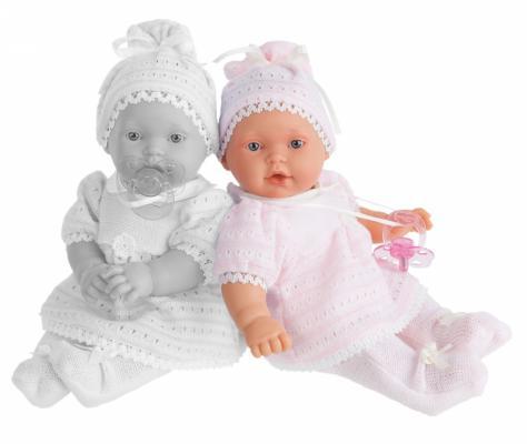 Кукла-младенец Munecas Antonio Juan Лана в розовом 27 см плачущая 1109P