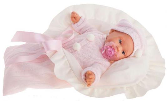 Кукла Munecas Antonio Juan Ланита в розовом 27 см плачущая 1110Р