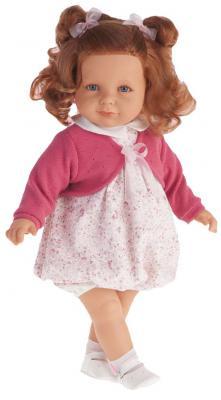 Кукла Munecas Antonio Juan Нина в ярко-розовом 55 см со звуком 1882C