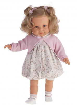 Кукла Munecas Antonio Juan Нина в розовом 55 см со звуком 1882P