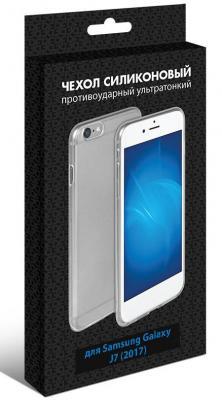 Чехол силиконовый супертонкий для Samsung Galaxy J7 (2016) DF sCase-25 чехол df sslim 30 для samsung galaxy j2 prime grand prime 2016