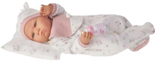 Кукла Munecas Antonio Juan Бертина в розовом 52 см со звуком 1951P