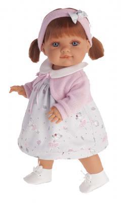 Кукла Munecas Antonio Juan Эвелина 38 см 2260P munecas antonio juan озвученная 34 см