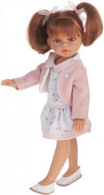 Кукла Munecas Antonio Juan Эльвира летний образ, рыжая 33 см 2584B