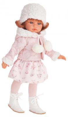Кукла Munecas Antonio Juan Эльвира зимний образ, рыжая 33 см 2586W