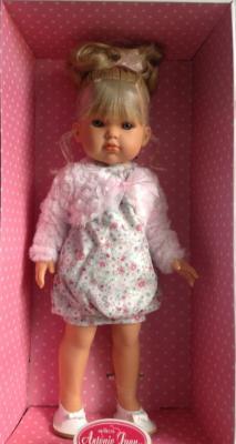 Кукла Munecas Antonio Juan Белла розовое болеро 45 см 2802P