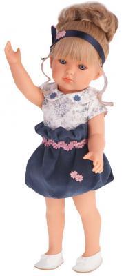 Кукла Munecas Antonio Juan Белла в синем платье 45 см 2809B