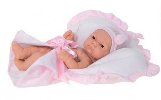 Кукла-младенец Munecas Antonio Juan Лея в розовом 26 см 4055P