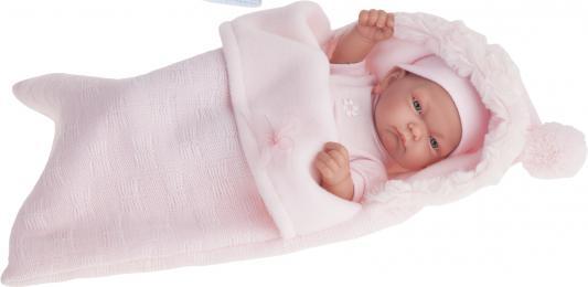 Кукла-младенец Munecas Antonio Juan Карла в конверте, розовый 26 см 4066P