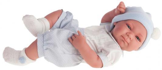 Кукла-младенец Munecas Antonio Juan Оли (мальчик) в голубом 42 см 5051B