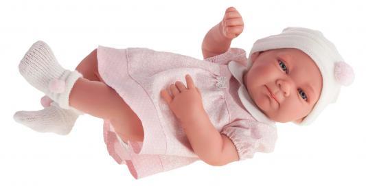 Кукла-младенец Munecas Antonio Juan Оливия в розовом 42 см 5052P